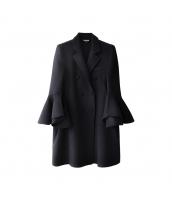ガーベラレディース フリースコート ミディアムコート ワイド袖 w10144-2