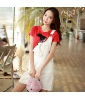 【サロペット】ジャンパースカート【着やせ】夏物【白】ホワイト w11430-1