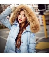 コート ダウンコート ミディアム ファッション ファー襟 暖い w8166-1