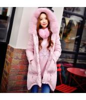 コート ダウンコート ミディアム 厚い 細身 ファー襟 暖い w8167-1
