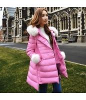 コート ダウンコート ミディアム ゆったり ファー襟 暖い w8169-1