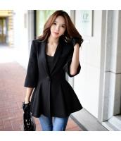 コート ダッフルコート ミディアム ファッション あわせ易い 細身 ショート丈 w8189-2