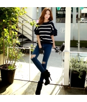 パンツ ロングパンツ ファッション 細身 着やせ  w8351-1