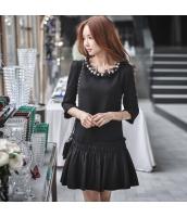 ワンピース Tシャツワンピ ミニ ファッション 細身  w8551-1