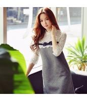 ワンピース ミニ ボックスワンピ ファッション リボン w8691-1