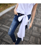 ガーベラレディース ジーンズ デニムパンツ スキニーパンツ 着やせ 脚長効果 ダメージジーンズ w9105-1