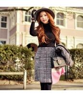 タートルネック ガーベラレディース ブラック 着やせ ニットウェア セーター w9205-1