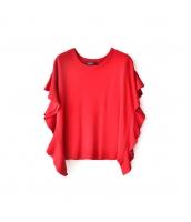 ガーベラレディース プルオーバー ドルマン袖 丸首 ゆったり コーデアイテム ニットウェア セーター w9505-2