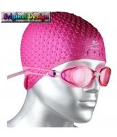 ビーチグッズ 水泳ゴーグル スイミングゴーグル スイムゴーグル 男女兼用 ピンク色 yd3057-3