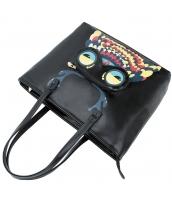 レディースバッグ ショルダーバッグ ハンドバッグ 2wayバッグ トレンディ カートン風 可愛い グラフィティ フクロウ 大容量 yh10089-1