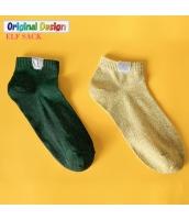 ガーベラレディース 靴下 ショートソックス くるぶしソックス 2足セット yj6038-2