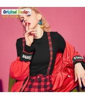 ガーベラレディース ワイドパンツ ストリートファッション サスペンダーパンツ yj6122-1
