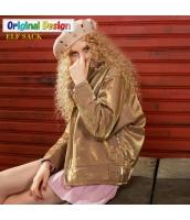 ガーベラレディース 刺繍 綿入りコート タートルネック ストリート風 ジャケット ステンカラー yj6498-2