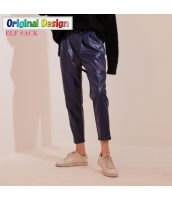 ガーベラレディース PUレザー ストリートファッション カジュアル サブリナパンツ yj6528-1