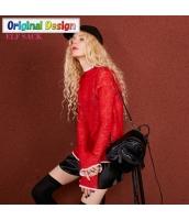 ガーベラレディース 着やせ タートルネック ワイド袖 薄手 プルオーバー ニットウェア セーター 長袖 yj6548-2