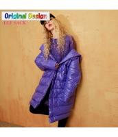 ガーベラレディース ゆったり ストリートファッション フード付き ダウンコート ミディアム丈コート yj6691-1