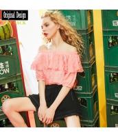 ガーベラレディース キュロットスカート ミニスカート ショートパンツ・ホットパンツ ゴムウエスト yj6970-1