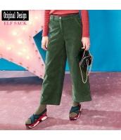 ガーベラレディース ワイドパンツ ストリートファッション yj7026-1