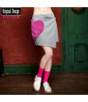 ガーベラレディース ラップスカート ミニスカート イレギュラー裾 yj7089-2