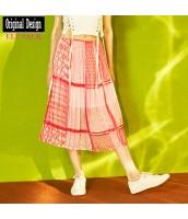 ガーベラレディース プリーツスカート 膝丈スカート ストリートファッション yj7113-1