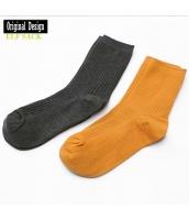 ガーベラレディース 靴下 ソックス 純綿100%コットン ハイストレッチ  yj8317-1