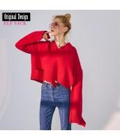 ガーベラレディース ニット・セーター セーター 長袖 ゆったり 春物 yj8403-2