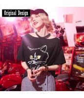 【Tシャツ】カットソー【半袖】カットアウトショルダー【春物】 yj8758-2