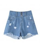 【キュロットスカート】ミニスカート【ダメージ入り】フリンジ裾【春物】 yj8764-3