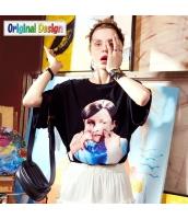 【Tシャツ】カットソー【五分袖】ゆったり【夏物】 yj8819-2
