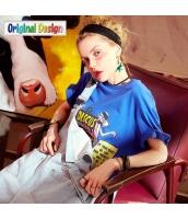 【Tシャツ】カットソー【半袖】ゆったり【可愛い】夏物 yj8823-1