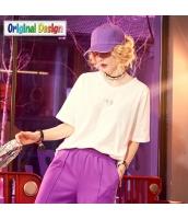 【Tシャツ】カットソー【半袖】ゆったり【夏物】 yj8824-4