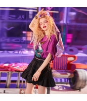 【フレアスカート】ミニスカート【黒】ブラック【夏物】 yj8921-2