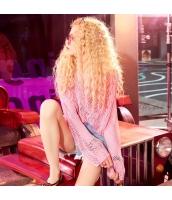 【ニット・セーター】セーター【長袖】ホロー【桃色】ピンク【夏物】 yj8923-2