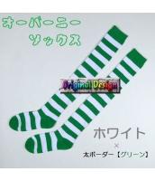 ソックス 靴下 ニーソックス ハイソックス ゴスロリ ロリータ ボーダー 普段使い&コスプレに最適 hw0111-12