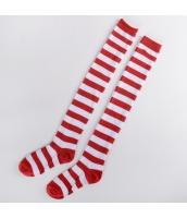 ソックス 靴下 ニーソックス ハイソックス ゴスロリ ロリータ ボーダー 普段使い&コスプレに最適 hw0111-19