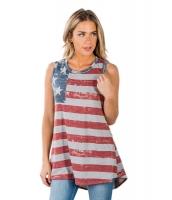 ビンテージ アメリカ 国旗 タンクトップ lc250182-3