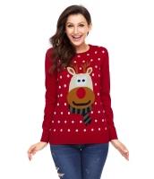レッド クリスマス トナカイ セーター cc27695-3