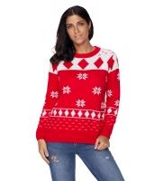 レッド 3D クリスマス セーター cc27787-3
