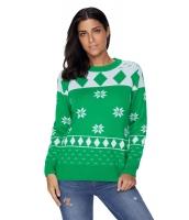 グリーン 3D クリスマス セーター cc27787-9