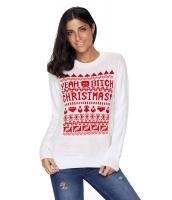 ホワイト クリスマス セーター cc27788-1