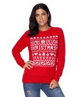 レッド クリスマス セーター cc27788-3