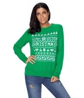 グリーン クリスマス セーター cc27788-9