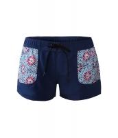 花柄 ドリーミー ポケット ネイビー ボード ショーツ cc410279-1