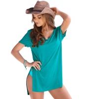 ミント 半袖 Tシャツ カバーアップ cc42129-9