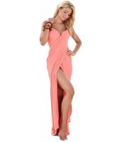 ピンク ギリシア 女神 スパゲッティ ストラップ サロン ビーチファッション cc42179-10
