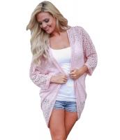 セクシー ピンク レース 着物 ビーチファッション lc42201-10