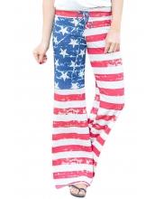 米国旗 ワイドパンツ cc77016-3