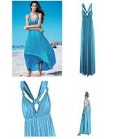 【即納】パレオ ロングビーチドレス1 tk-yy5078-1-f-bl【カラー:ブルー】【サイズ:フリー】